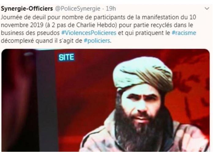 Le syndicat de Police Synergie-Officiers accusé de racisme suite à un tweet scandaleux