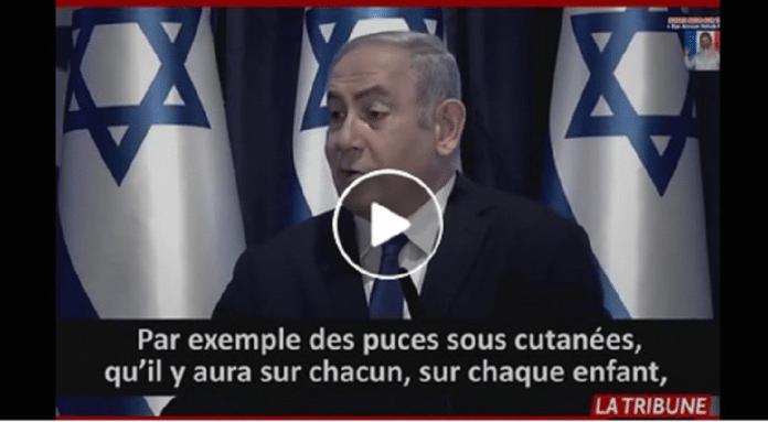 Netanyahou annonce vouloir implanter des puces aux enfants