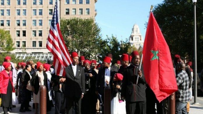 Pourquoi des manifestants Afro-Américains brandissent-il le drapeau marocain ? VIDÉO