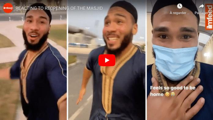 Qatar un basketteur américain fou de joie filme son retour à la mosquée après le Covid-19