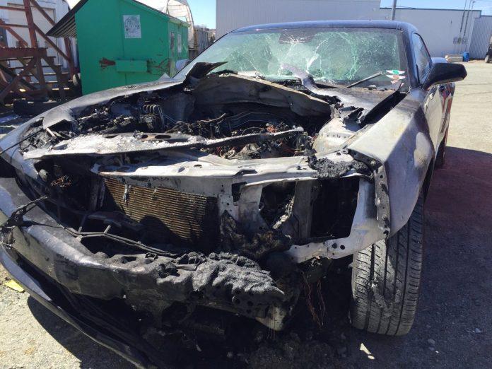 Racisme - victime d'un attentat, la voiture de Mohamed explose dans son jardin