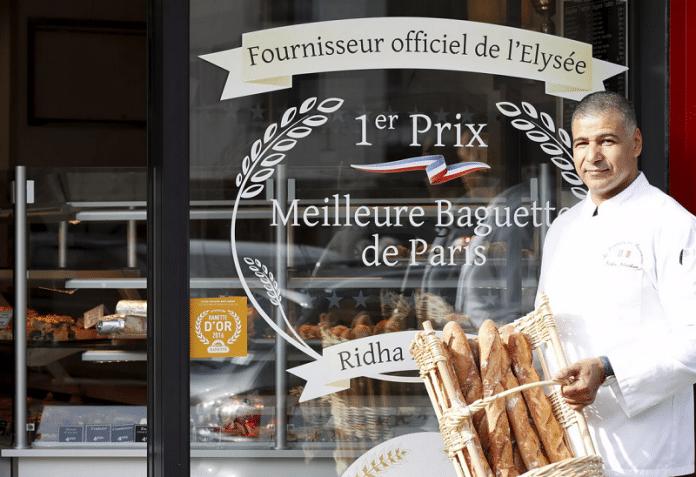 Ridha Khadher, le boulanger tunisien qui travaille pour l'Élysée