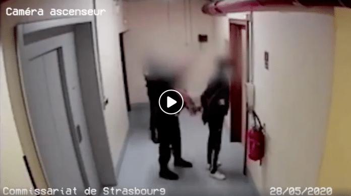 Strasbourg inculpé pour violence contre agent, la vidéo montre qu'Abdou est la victime
