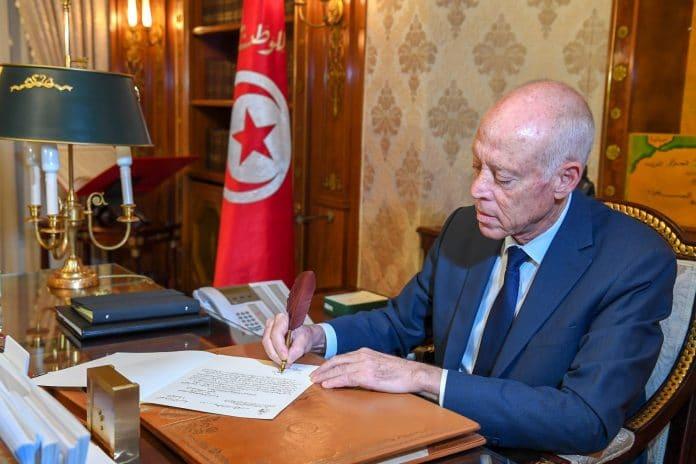Tunisie - le président Kais Saied dévoile son talent caché pour la calligraphie arabe