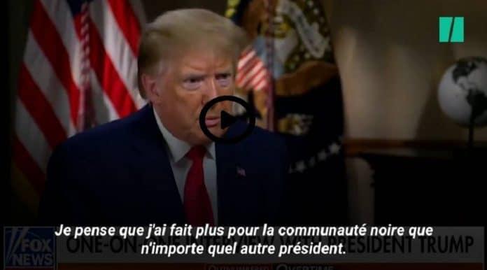 Une journaliste Afro-Américaine recadre Donald Trump en direct