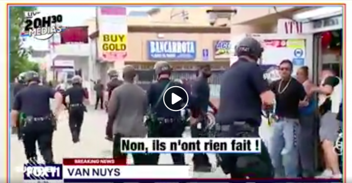 Une journaliste appelle les secours pour signaler un pillage, la police arrête les propriétaires noirs et laisser filer les voleurs blancs - VIDEO