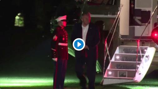 Une vidéo de Donald Trump triste et découragé devient virale