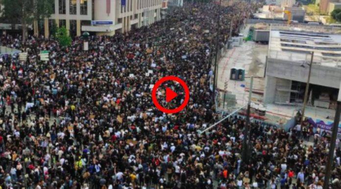 Violences policières la mobilisation pour Adama Traoré rassemble des dizaines de milliers de personnes - VIDEO
