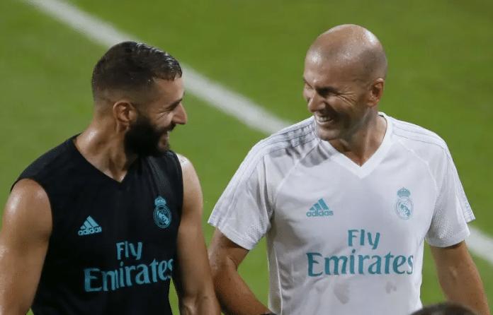 Zinédine Zidane rend hommage à Karim Benzema lors d'une interview
