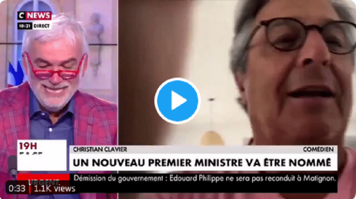 Christian Clavier humilie Pascal Praud et la chaîne CNews en direct