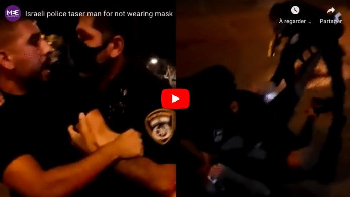 Coronavirus la police israélienne tabasse un jeune homme parce qu'il ne porte pas de masque