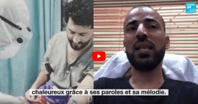 Coronavirus : un jeune soignant irakien prend soin des malades en leur chantant des chansons