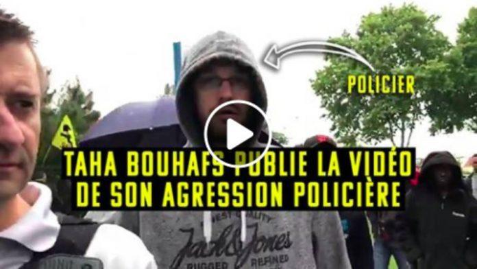 Epaule déboitée Taha Bouhafs publie la vidéo de son agression policière