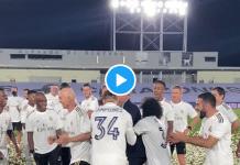 Football : Le Real Madrid sacré champion d'Espagne une nouvelle fois, Zidane en pleurs