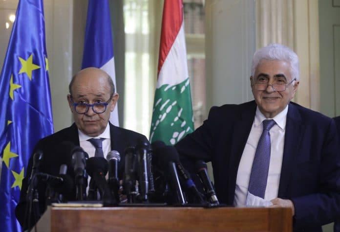 Jean-Yves Le Drian en visite au Liban pour encourager la réforme