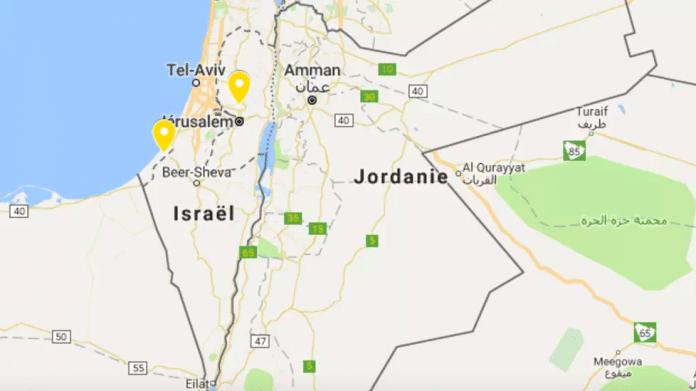 L'Autorité Palestinienne bannit Google après que la Palestine ait été «retirée» de la carte