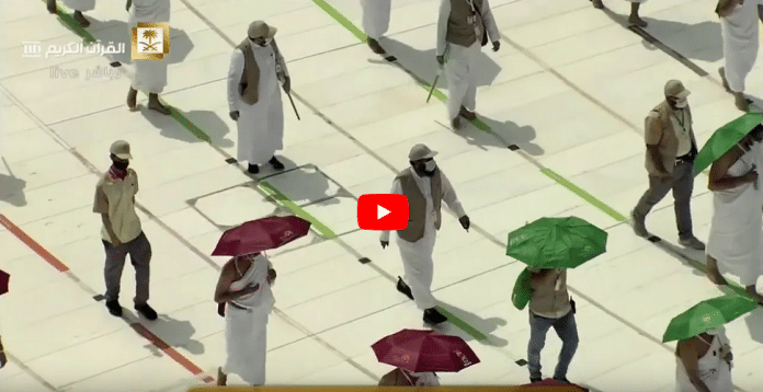 La Mecque : images exclusives des pèlerins effectuant le Tawaf tout en respectant la distanciation sociale