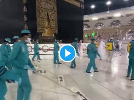 La Mecque : la Mosquée El Haram désinfectée, se prépare à accueillir les pèlerins