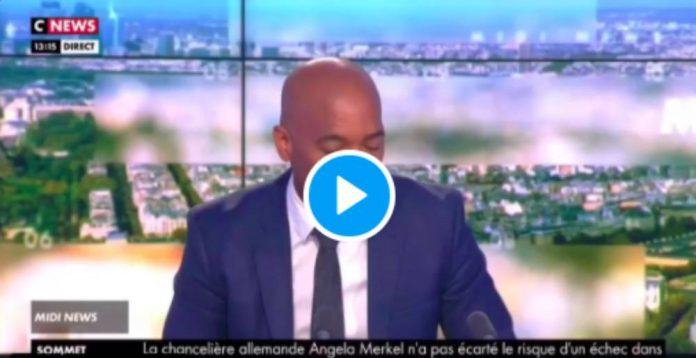 Malaise une meute de journalistes se jette sur une personne noire pensant interpeller le coupable de l'incendie de Nantes