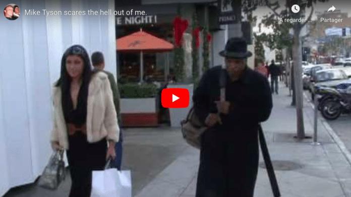 Mike Tyson terrifie un paparazzo qui le harcèle dans la rue
