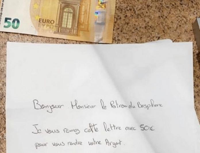 Mulhouse : le patron d'un Kebab reçoit une lettre accompagnée d'argent, la raison est surprenante