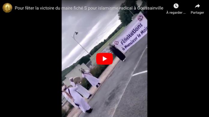 Municipales un folklore oriental fête la victoire d'Abdelaziz Hamida àGoussainville - VIDEO