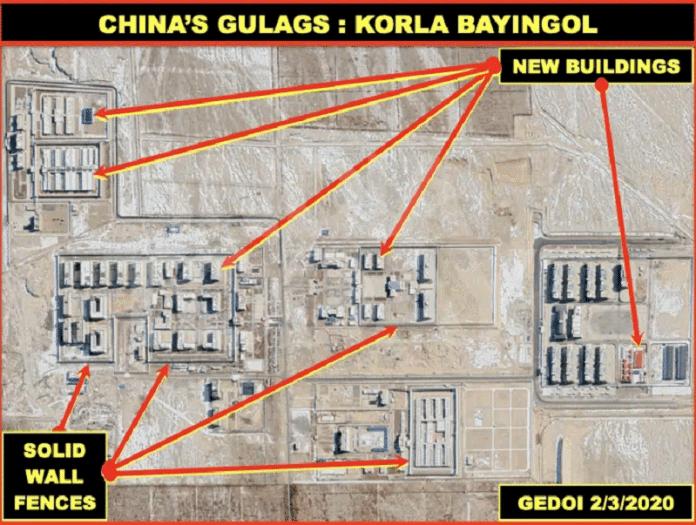 Ouïghours : Des images satellites exclusives révèlent l'horreur de leur détention