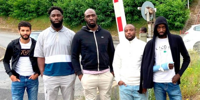 Rouen : cinq jeunes portent secours à un octogénaire coincé sur des rails de chemine de fer