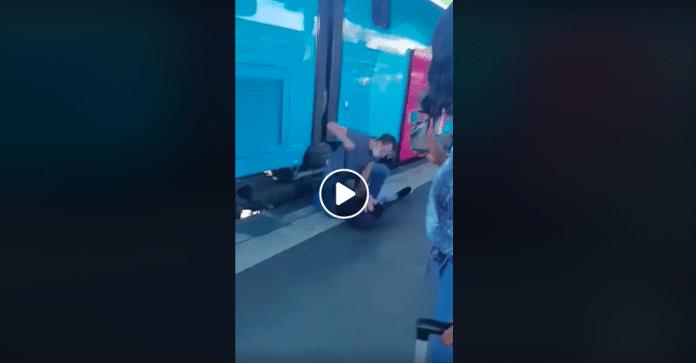 SNCF un agent de sûreté tabasse violemment un homme qui n'avait pas de ticket