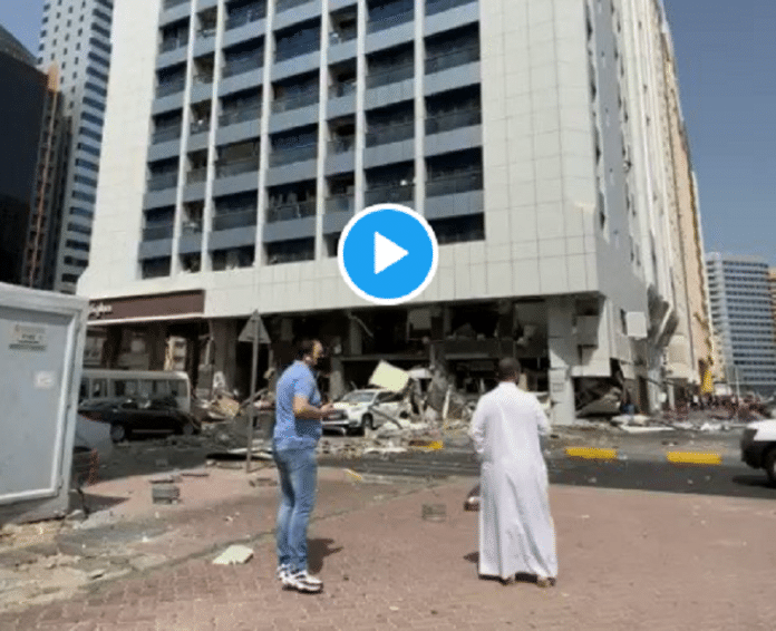 Émirats arabes unis : Explosion d'un restaurant KFC à Abou Dhabi - VIDEO