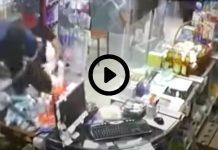Algérie des hommes armés de sabres attaquent une pharmacie à Oran - VIDEO