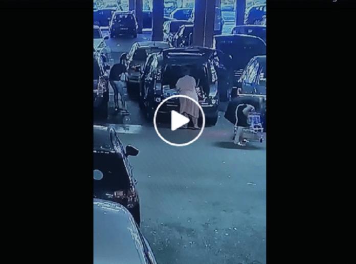 Aulnay-Sous-Bois : Vol spectaculaire sur le parking d'un centre commercial