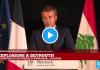Beyrouth : En direct, Emmanuel Macron se met à parler en arabe pour rendre hommage au Liban