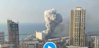 Beyrouth une impressionnante explosion fait au moins 50 morts et 2700 blessés