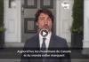 CanadaJustin Trudeau présente ses voeux aux Musulmans à l'occasion de l'Aïd al-Adha