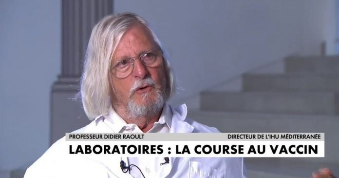 Coronavirus - Didier Raoult déconseille de se faire vacciner - VIDEO