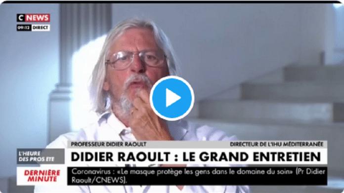 Coronavirus : Didier Raoult salue l'hygiène des musulmans :