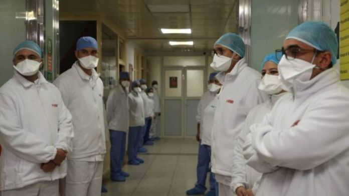 Coronavirus - le Maroc mobilise les médecins du secteur privé pour soutenir les hôpitaux publics (1)