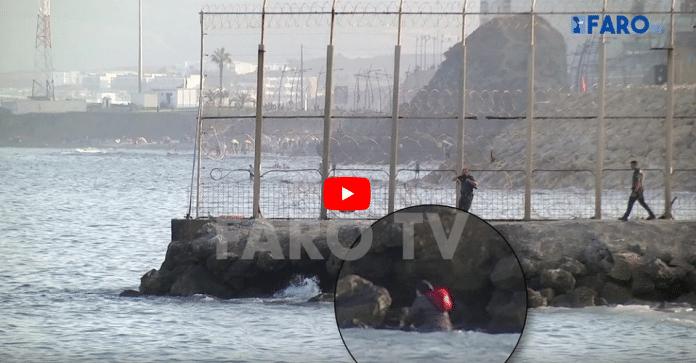 Espagne : une Marocaine réussit à rejoindre le Maroc à la nage- VIDÉO