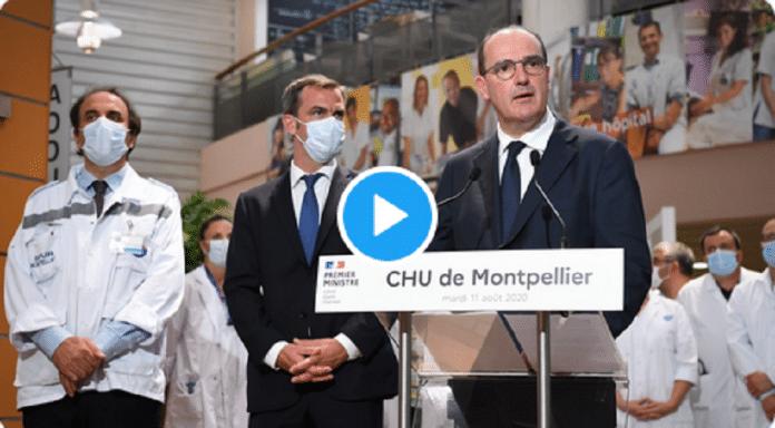 Face à l'épidémie en France, Jean Castex alerte :