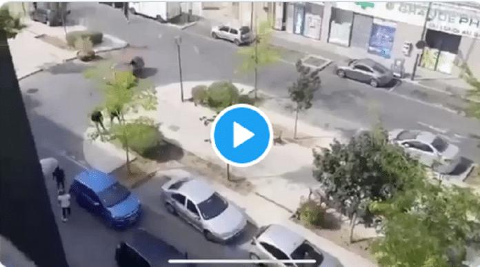 Fleury-Mérogis : une bagarre générale d'une grande violence éclate en pleine rue - VIDEO