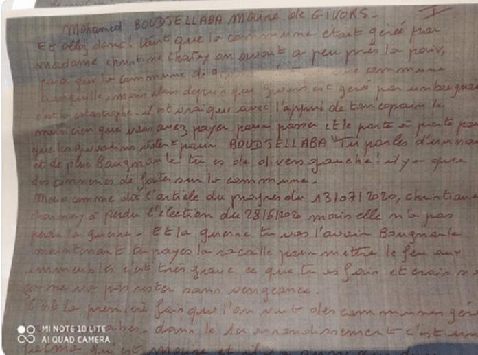 «Fous le camp bougnoule»: le maire Mohamed Boudjellaba menacé dans une lettre anonyme