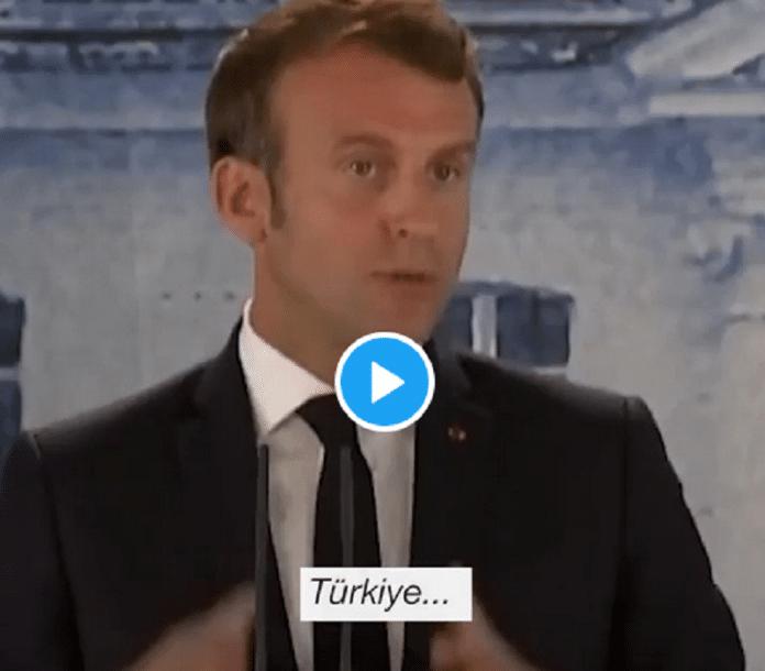 France : Le président Macron moqué par les Turcs pour son