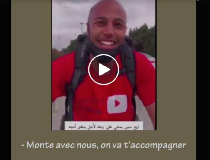 Hajj le Marocain Yacine Ghulam arrive à La Mecque après un voyage de 4 ans à pied et à vélo