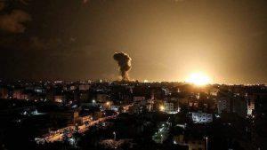 Israël bombarde les positions du Hamas à Gaza2