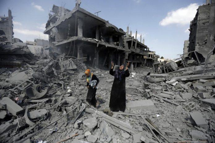 Israël menace le Hamas de «guerre» et bombarde Gaza pour la huitième nuit consécutive