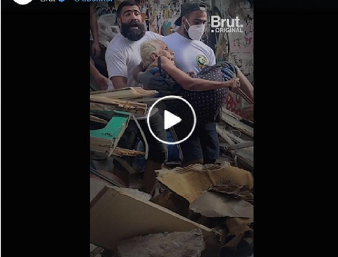 Liban : sauvetage spectaculaire d'une grand-mère au milieu des décombres