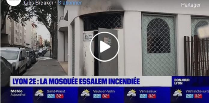 Lyon : la mosquée Essalem incendiée, la deuxième en une semaine en France