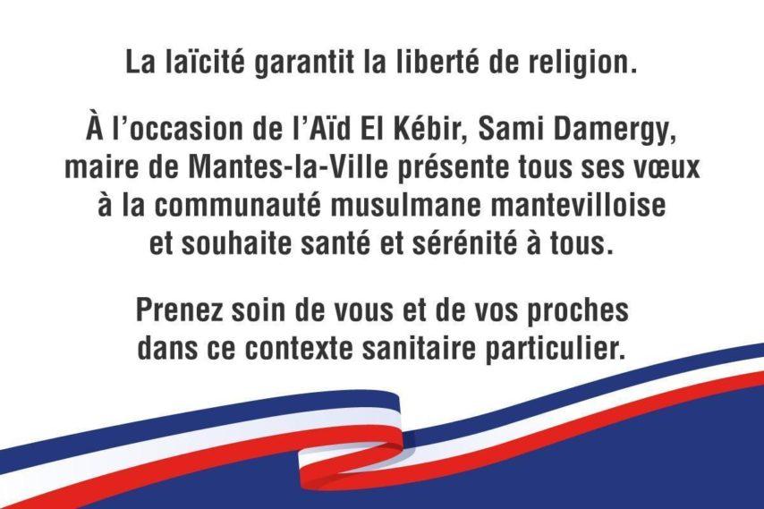 Mantes-la-Ville : le maire Sami Damergy taclé par le PS pour avoir souhaité un bon Aïd aux musulmans