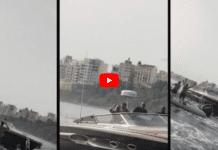 Maroc : le Roi Mohammed VI aperçu au large de Sebta à bord de son yacht